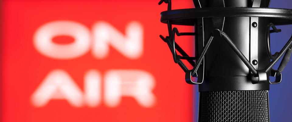 Radiointervjuer med Daniel Zangger Borch
