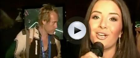 Schlagerfestivalen 2009, Arash och Aysel sångcoachas av Daniel Borch